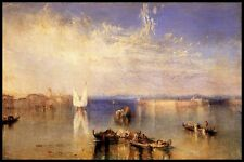 Campo Santo Venice by Joseph Turner Giclee Canvas Print or Fine Art Poster NEW