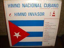 Various Artists - Himno Nacional Cubano e Himno Invasor - LP Excellent Cond L6