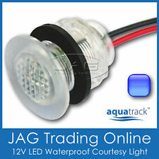 BLUE LED LIVEWELL COURTESY LIGHT - Caravan/Boat/Live Bait Tank/Stair/Step Lamp