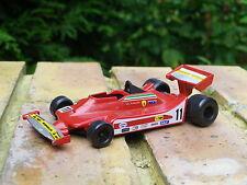 YAXON FERRARI T 4  pilote Jody Scheckter Monaco 1979 état Neuf, pas de boite.