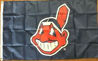 Cleveland Indians 3x5 Flag Banner Logo Baseball Man cave MLB World Series