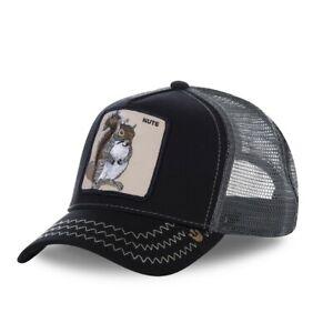 Casquette Baseball Goorin Bros Squirrel Master Noir