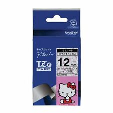 Brother TZe tape (Hello Kitty white / black) 12mm TZe-HW31 (japan import)