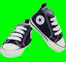 75c7d98610 Baby Shoes First All Star Converse Trainers 88865 Navy Blue UK Size 1 Eu17