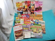19 Mixed Lot PB Cookbooks Pillsbury Betty Crocker Taste of Home Better Homes