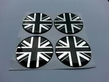 60mm Alloy Wheel Center Centre Badges Union Jack GB Various Logo 16m(b/c)