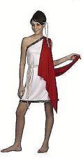 Ladies Greek Roman Goddess Toga Fancy Dress Outfit Womens Costume UK 10 - 14