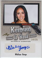 2014 POP CENTURY KEEPING IT REAL AUTO: MELISSA GORGA #24/25 AUTOGRAPH HOUSEWIVES