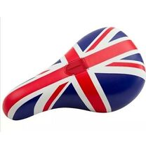 NEW Total Brit Fat Pivotal BMX Seat Red White & Blue Union Jack Odyssey BSD Cult