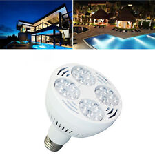 12V 50W 6000K Daylight White Swimming Pool LED Light Bulb Traditional E26 Screw