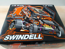 SPRINT CAR - R&R 1/18  - 2011 SAMMY SWINDELL - KNOXVILLE NATIONALS - AUTOGRAPHED