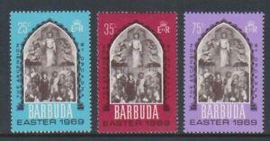 Barbuda - 1969, Easter set - M/m - SG 32/4