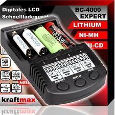 BC-4000 EXPERT Universal Ladegerät für Lithium und Ni-MH Akkus | 18650 Li-Ion
