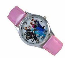 Reloj de pulsera Niñas Princesa Frozen Elsa carácter Niños Regalo Fiesta Media