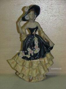 +# A012770_04 Goebel Archiv Muster Modefigur Dame in Kleid und mit Hut FF273 Rex