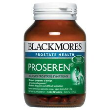 BEST PRICE! BLACKMORES PROSEREN SAW PALMETTO PROSTATE SUPPORT 120 CAPSULES
