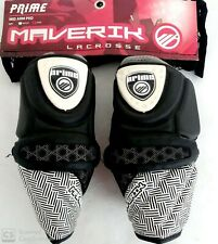 New Maverik Prime Mid lacrosse Arm Pad Sz: Large Black/Grey/White