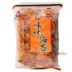 Bin Bin Würzige Reiscracker mit Seetang 135g Reis Cracker spicy