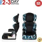 Convertible Car Seat 2 In 1 Safety Booster Toddler Boys Travel Chair Adjustable