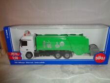 Siku 2938 Müllwagen 1 : 50   in grün mit Mülltonne NEU OVP