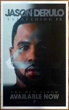 JASON DERULO Everything Is 4 2015 Ltd Ed RARE New Poster +FREE Hip-Hop Poster