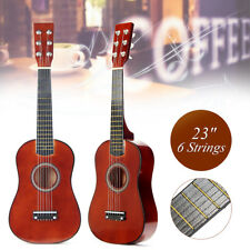 23'' Childrens Kids Wooden Acoustic Guitar 6 String Musical Instrument Gifts Toy