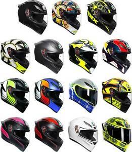 AGV K1 Helmet - Full Face Motorcyle Street Bike Riding Mens Womens DOT ECE