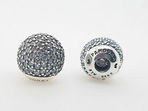Pandora 796481CZ Bangle Caps Sterling Silver CZ Pave Open Bangle RRP $129