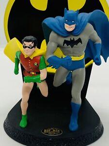 VTG DC Comics Batman & Robin Golden Age Dynamic Duo HALLMARK 1996 DUANE UNRUH