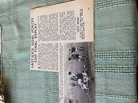 M89a ephemera 1966 picture london transport football crs john boult