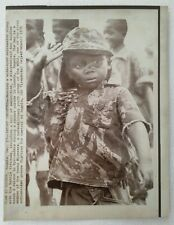More details for press photo wirephoto young pioneers boy soldier, luanda, angola,1975, 8