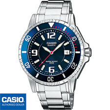 CASIO MTD-1053D-2AVES*MTD-1053D-2A*ORIGINAL*ENVIO CERTIFICADO*METAL*AZUL*200M