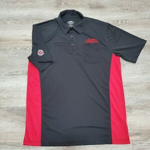 Mens Coca Cola Consolidated Golf Polo Shirt Size Employee Recycled Bottles
