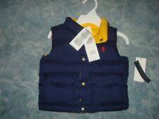 POLO RALPH LAUREN REVERSIBLE DOWN VEST SIZE 18M