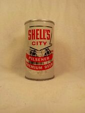 Shells City Pilsener Miami Florida Straight Steel Old Beer Can