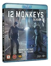 12 Monkeys Season 2 Blu Ray (Region Free)