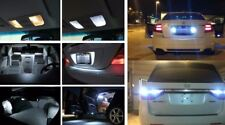 Fits 2000-2001 Nissan Xterra Reverse White Interior LED Lights Package Kit 14x