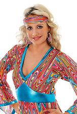 60s 70s Swirl Headband Mod Girl Headband Swirl Costume Hair Accessory BA1843