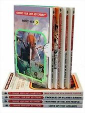 Box Set #4-3 Choose Your Own Adventure Books 9-12:: Box Set Containing: Lost on