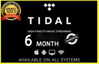 TIDAL HiFi Master || Family 6 Users 6 M0nths || BUY WITH CONFIDENCE