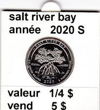 pièces de 1/4 $  salt river bay 2020 S