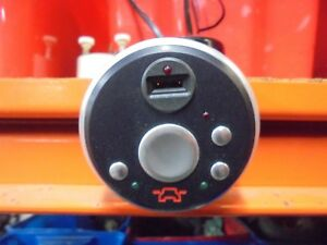 TVR IMMOBILISER AND MIRROR CONTROL WITH ALLOY OUTER