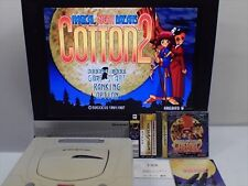 COTTON 2 Sega Saturn Free shipping Japan import rare NTSC/J