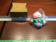 Vintage Avon Winter Snowman Pin - Nib - Christmas