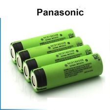 4 x Genuine Panasonic NCR18650B 18650 3400mAh Rechargeable Battery  Li-ion UK //