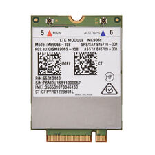 For HP lt4132 Huawei ME906S-158 4G Module WWAN LTE-FDD/HSPA+/WCDMA NGFF M.2 Card