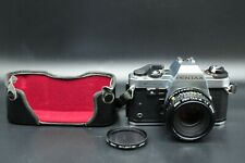 Vtg Pentax Super Program 35mm Slr Film Camera w/50 mm f/1.2 Smc Pentax-A Lens.