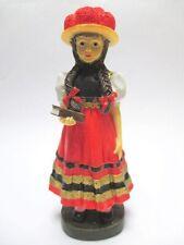 Schwarzwald Mädchen mit Tracht Poly Figur 15 cm Black Forest Souvenir