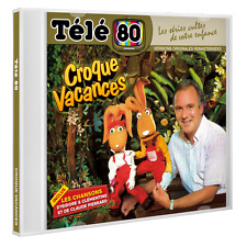 """CD NEUF """"TELE 80 : CROQUE VACANCES"""" 18 titres / Chansons d'Isidore & Clementine,"""
