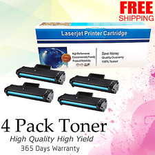 4PK Generic MLT-D104S Toner use for SAMSUNG ML-1661 1665 1666 1667 1675 Printer